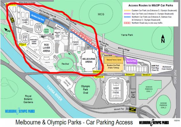 メルボルン&オリンピックパーク